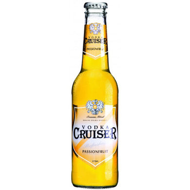 Cruiser Passionfruit Bottle 275ml 12pk 5%