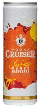 Cruiser Mango Raspberry 7% 12 Pack Cans 250ml