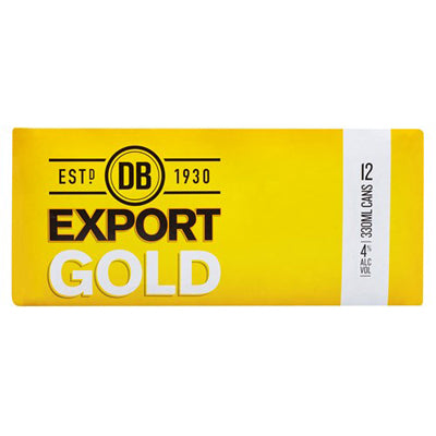 Export Gold 330ml 12pk bottles