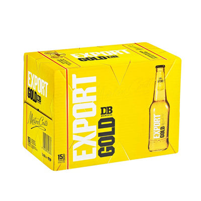 Export Gold 330ml 15pk bottles