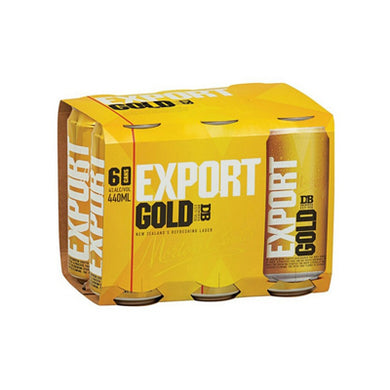 Export Gold 440ml 6pk cans