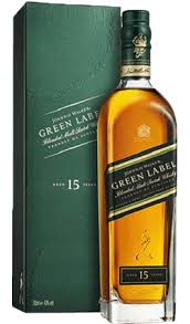 Johnnie walker green label  15 years 700ml vol 43%