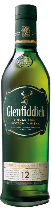 Glenffidich 12 years 700ml single malt whiskey