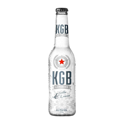 KGB Bottles Lime White 275ml 12pk btls