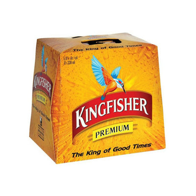 Kingfisher 330ml 12pk btls 5%Alc