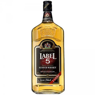 Label 5 1L Whiskey