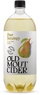 Old mout Pear scrumpy cider 1.25L