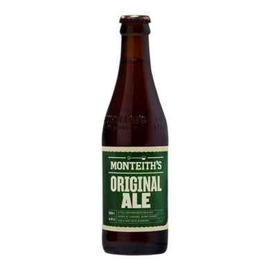 Monteith's Original Ale 12 Pack Bottles 330ml