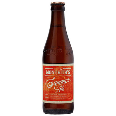 Monteith's Summer Ale 12 Pack Bottles 330ml