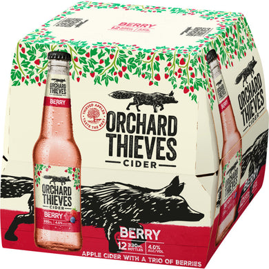 Orchard Thieves Berry 12 bottles 330ml 4% bottles