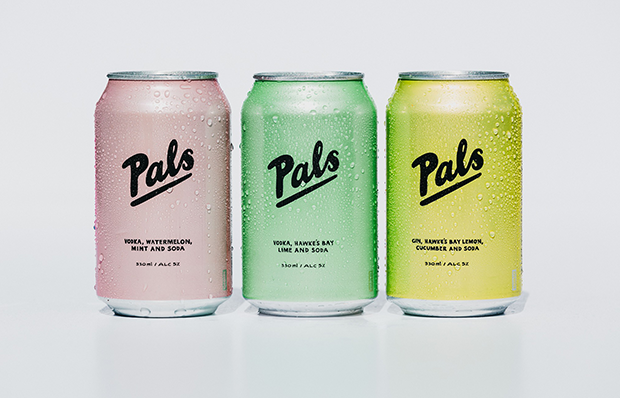 PALS VODKA LIME & SODA 10 PACK