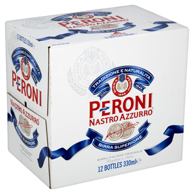 Peroni 330ml 12pk bottles