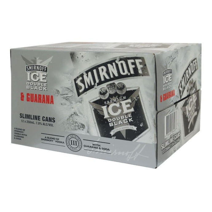 Smirnoff Ice DB Guarana 7% 12 Pack Cans 250m