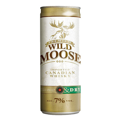 Wild Moose Dry Can 250ml 12pk