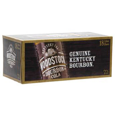 Woodstock Bourbon Cola 7% 250ml 18PK