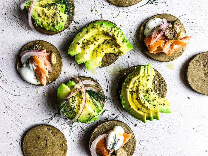 3 Ingredient Hemp Blinis