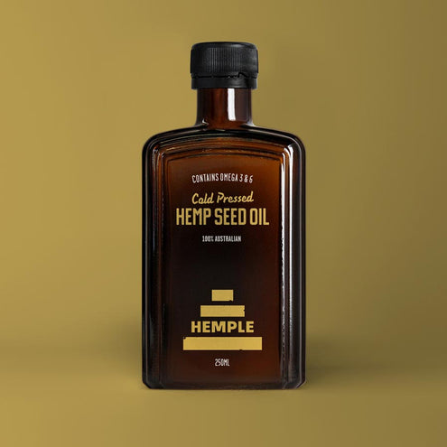 HEMPLE VIRGIN HEMPSEED OIL 250mL