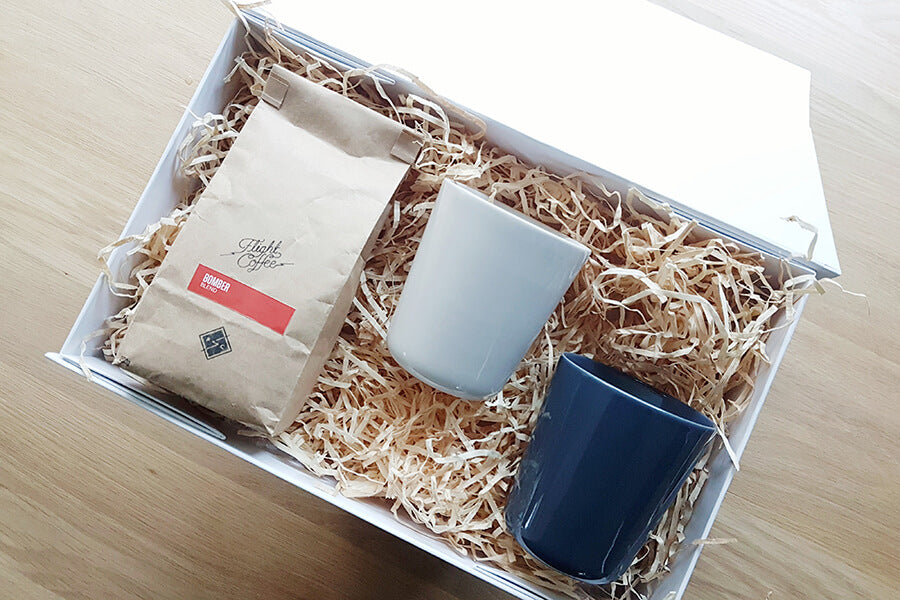coffee and tumblers christmas gift set for mum