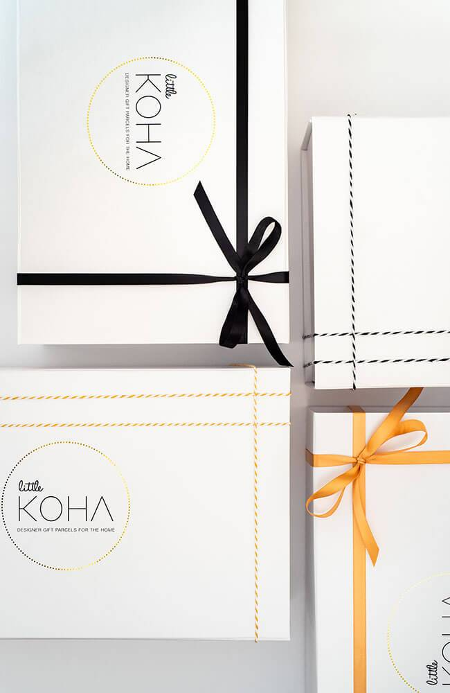 Gift Boxes ribbon selections