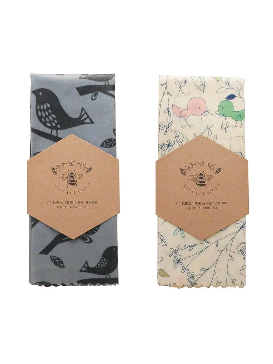 Lily Bee Reusable Beeswax Wraps
