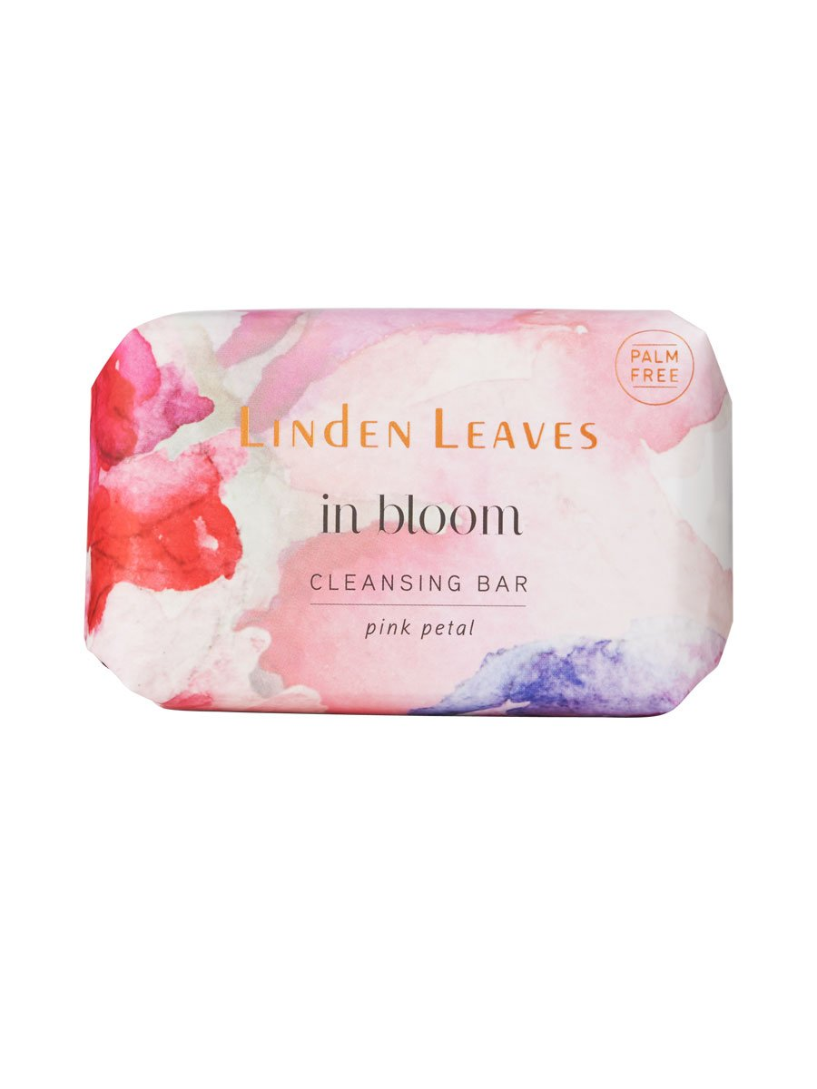 Linden Leaves Cleansing Bar - Pink Petal