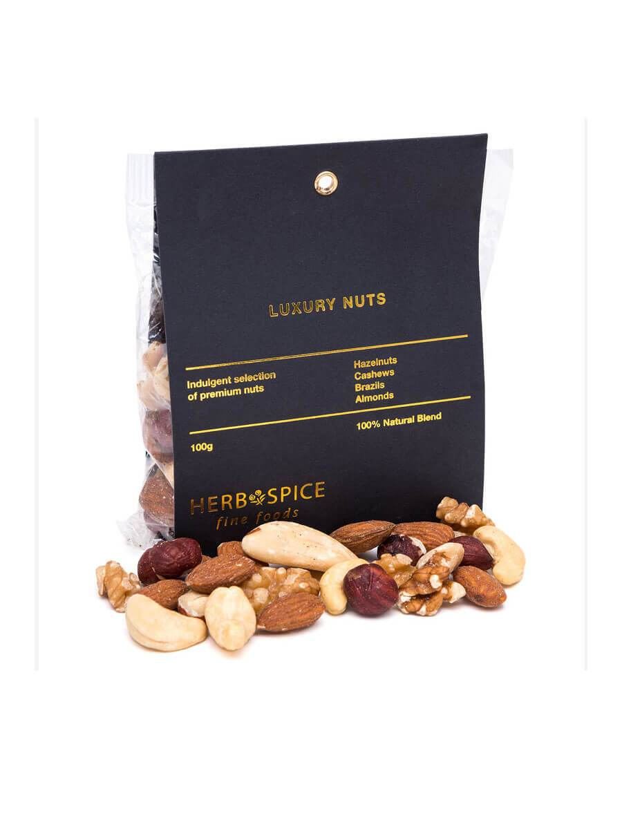 Luxury Nut Mix by Herb and Spice Mill 100g