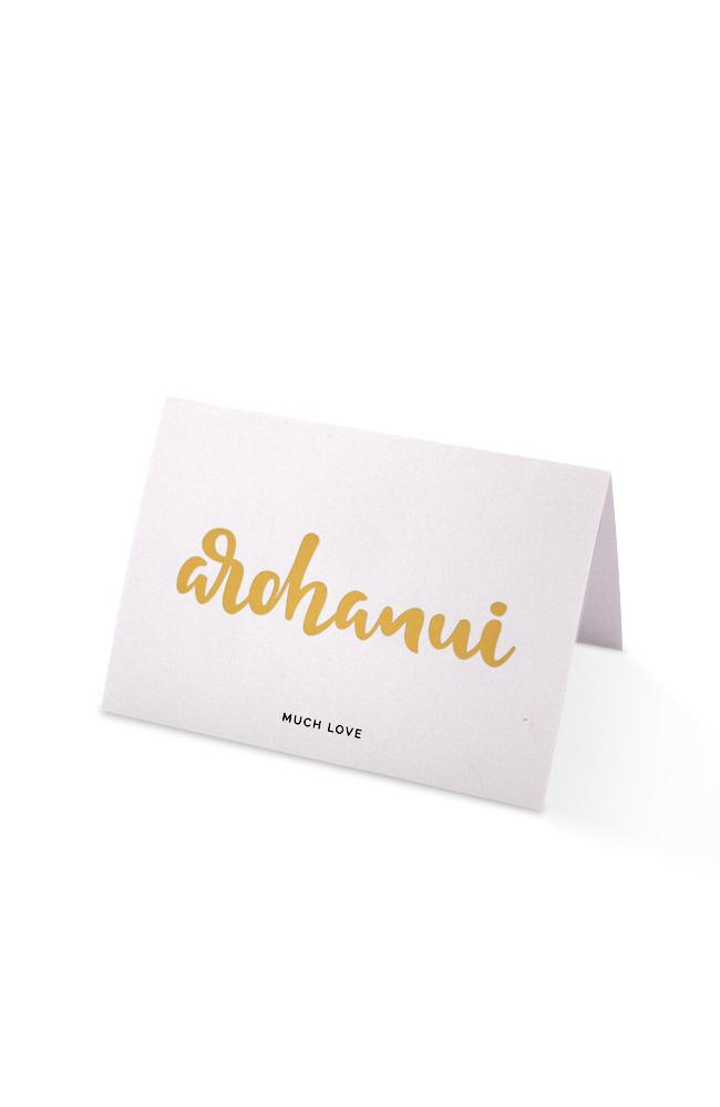 Much Love - Arohanui Gift Card