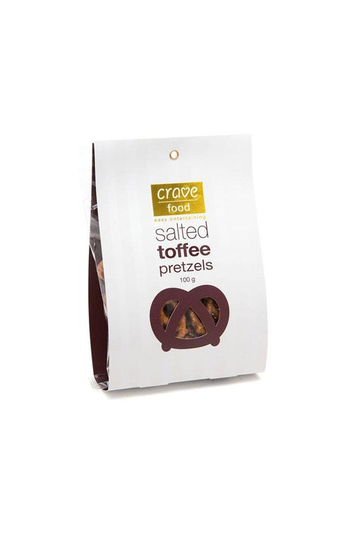 Salted Toffee Pretzels