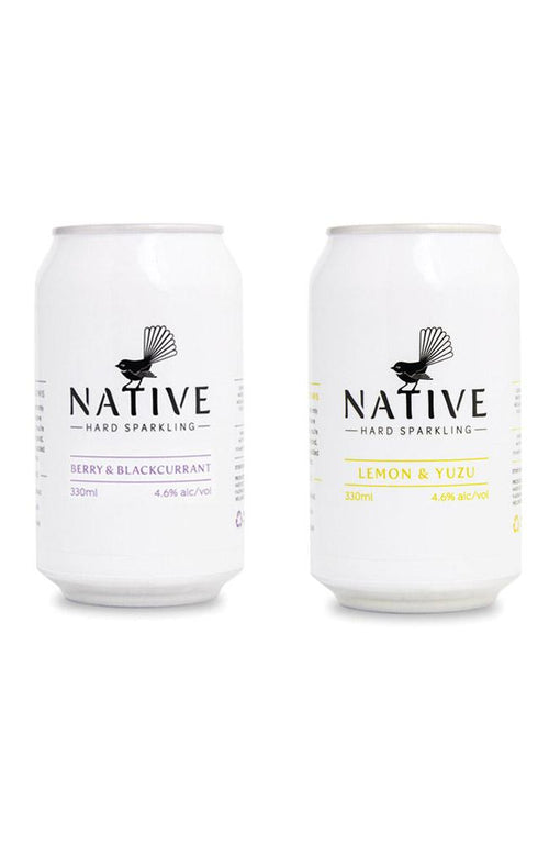 Native Sparkling Water (Alcoholic)