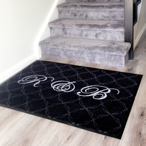 Personalised Mat Inside Home