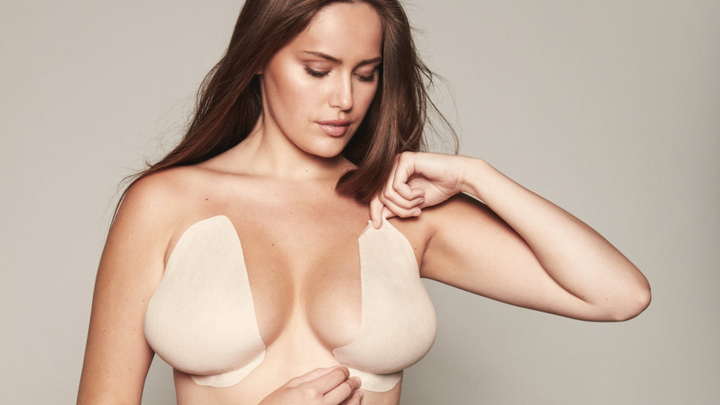 How to Tape Your Breasts for a Plunging Neckline or Deep V