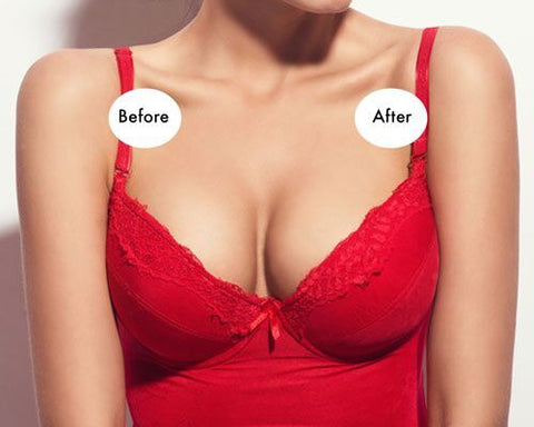 Nudwear Silicone Breast Enhancers- Before and After- Christmas Gift