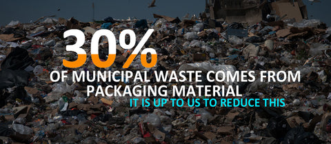 Packaging waste