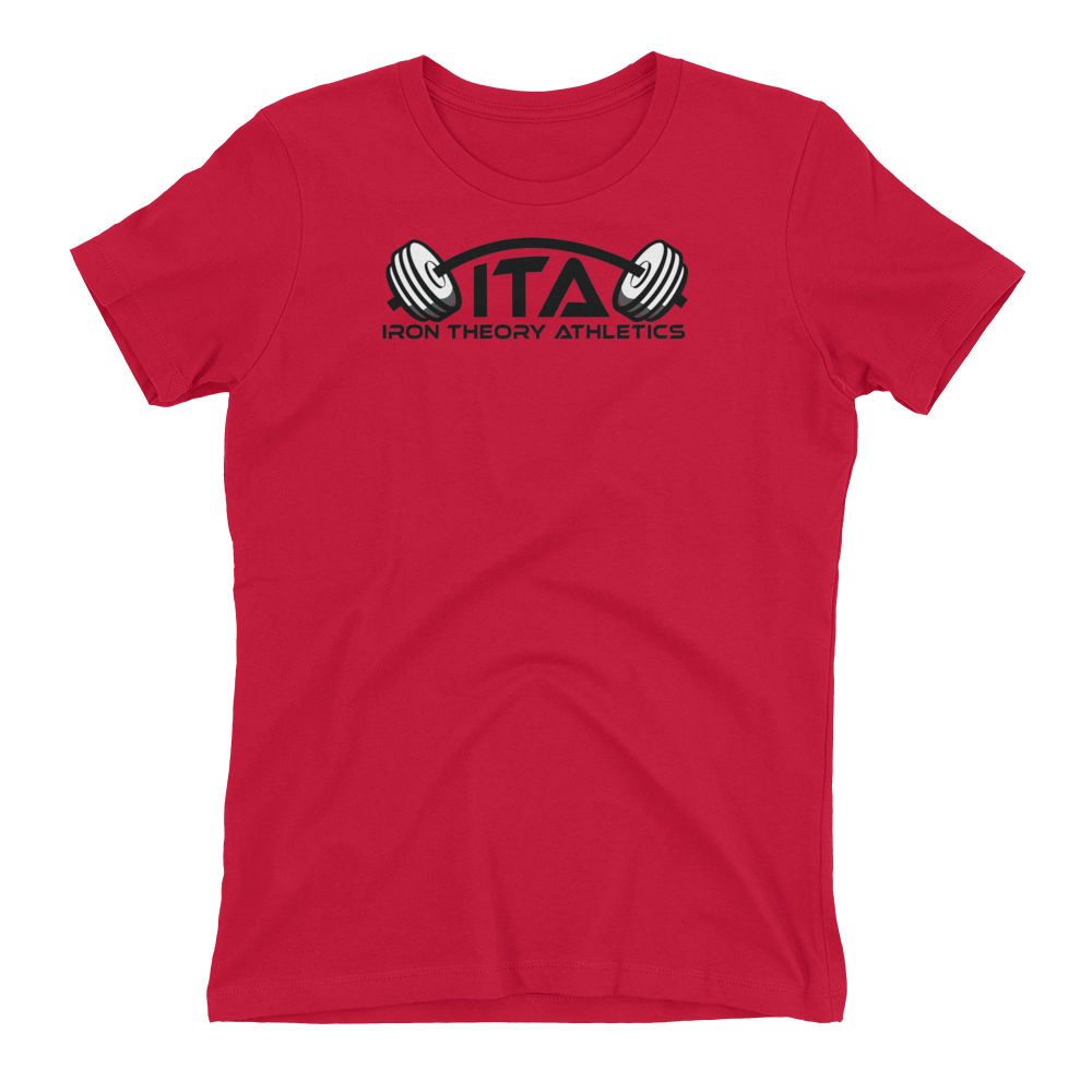 Women's 60/40 T-shirt with ITA Logo (4 colors)