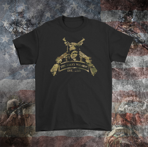 The Salty Soldier Logo (MultiCam)