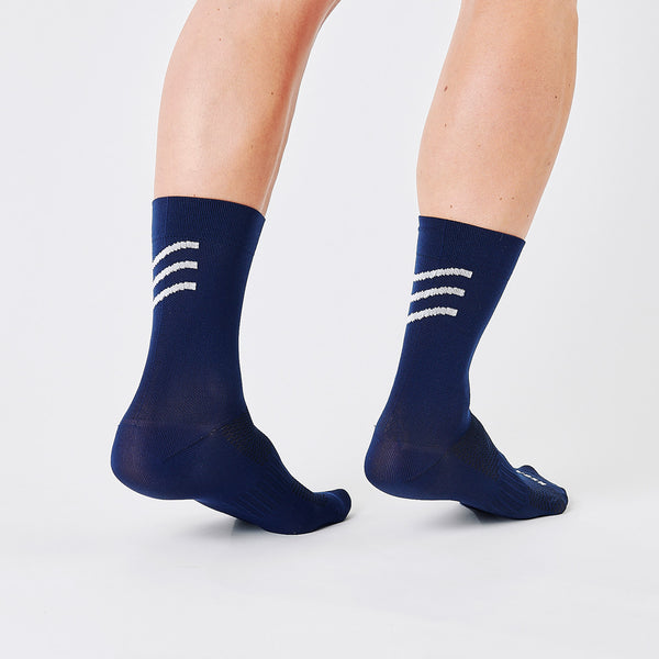Logo Sock Navy