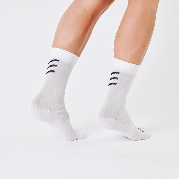 Logo Sock White