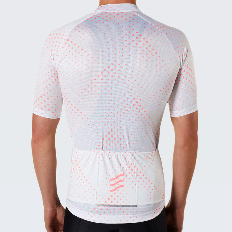 Pinnacle Rouleur Eco Male Jersey / White Atomic