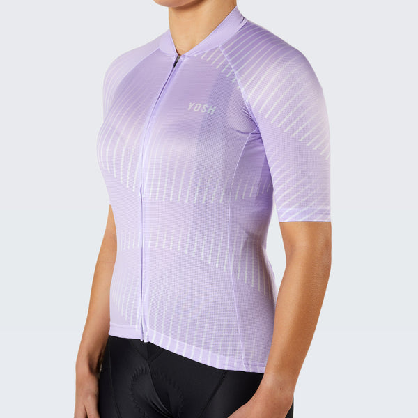 Electra Rouleur Eco Female Jersey / Lilac