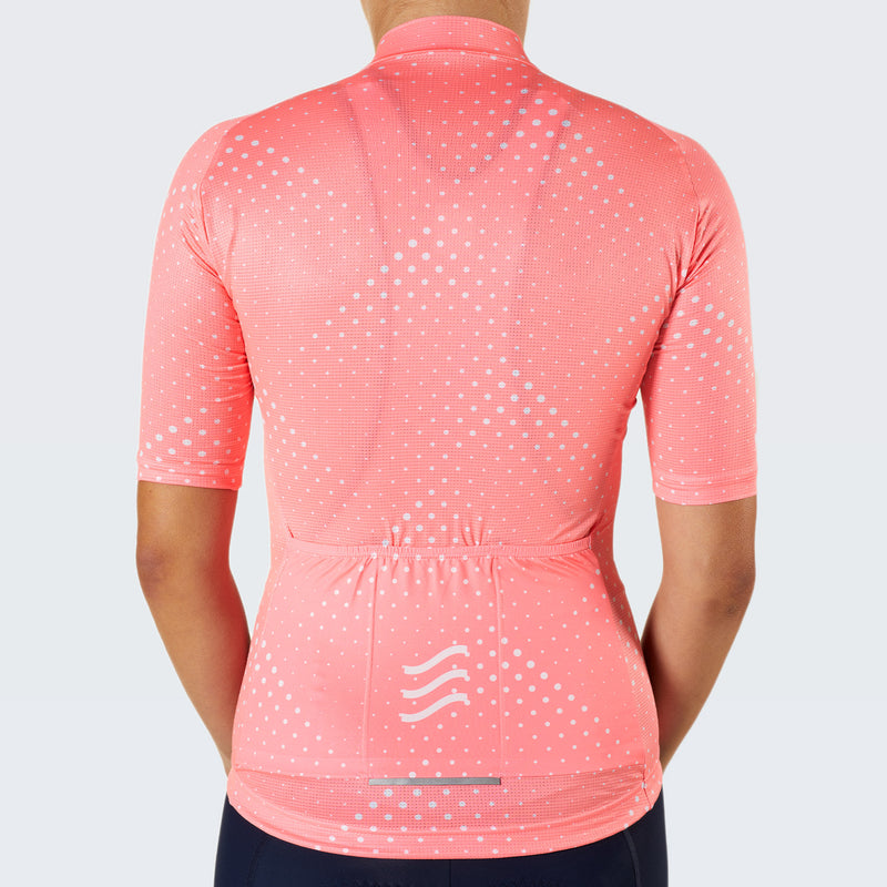 Pinnacle Rouleur Eco Female Jersey / Atomic Peach