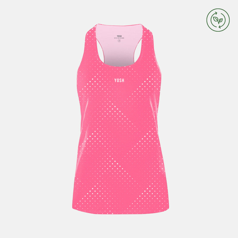 Spirit Female Run Singlet / Pink
