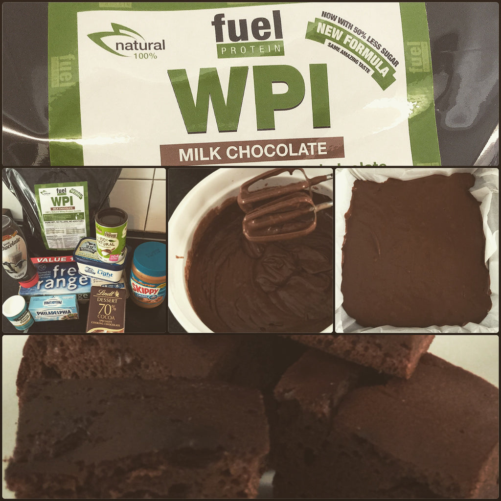 Fuel Protein Choc Peanut Butter Brownies