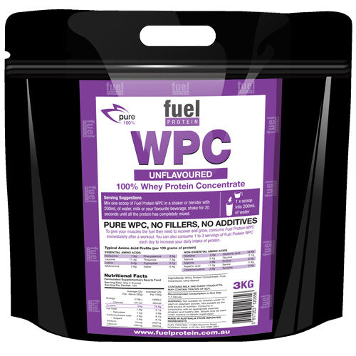 WPC Whey Protein Concentrate 3kg