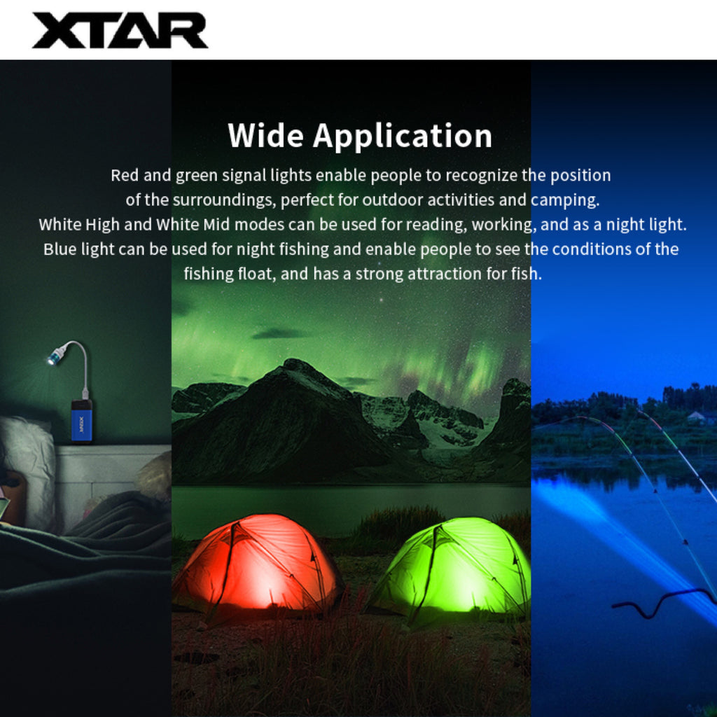 XTAR UL1-120 EDC Light - Mini Colorful USB Light
