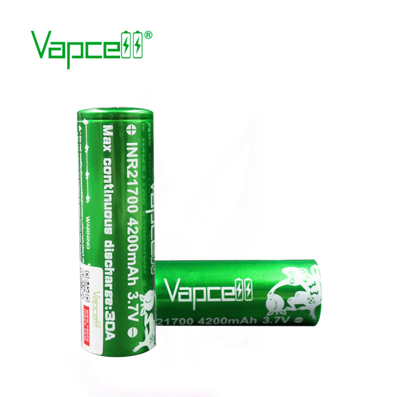 Vapcell INR21700 4200mah 30A (Molicel P42A)