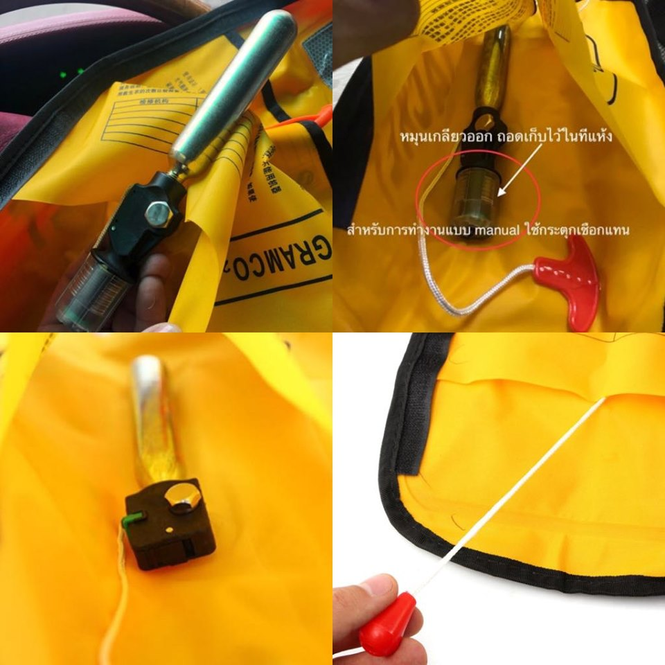 Automatic Life Jacket Re-Arming Kits
