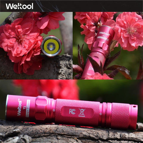 "Weltoo T1 ""Single Blossom"" Mini LED Flashlight"