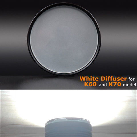 ACEBEAM White Diffuser for K60/K65/K70
