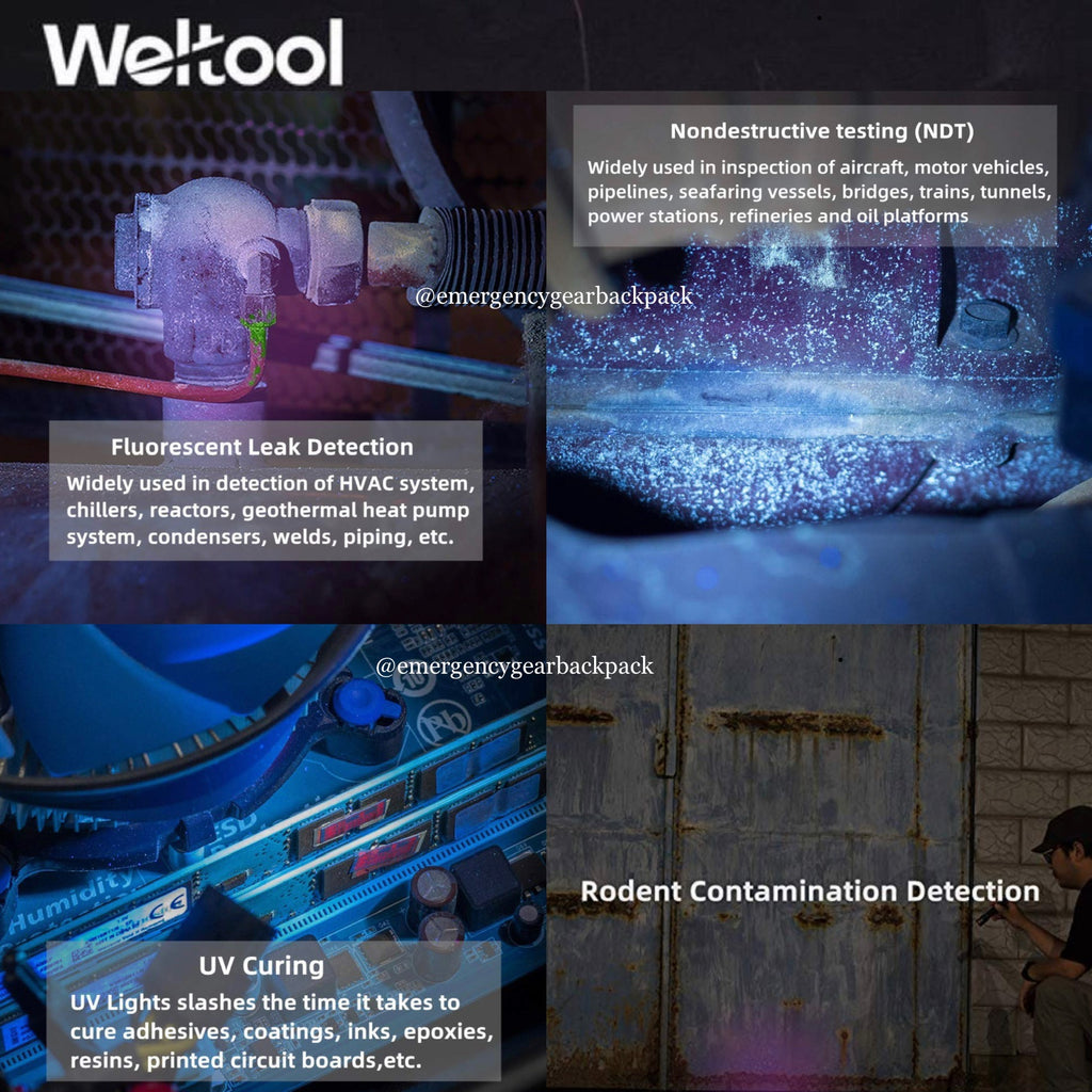 Weltool M2-CF UV 365nm (Focused high radiation beam)