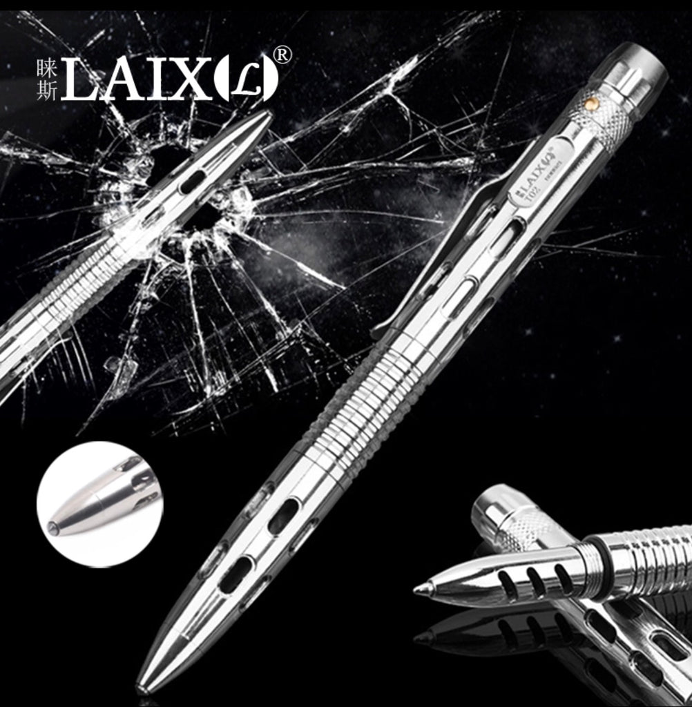 LAIX T-02 Stainless Steel Tactical Pen
